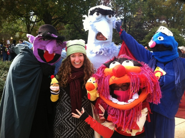 JCM with Muppets. Because yes.
