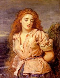 John Everett Millais - The Martyr of the Solway