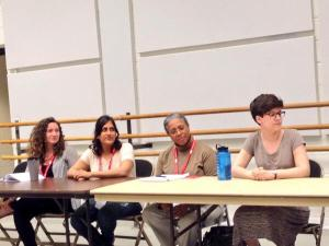 Speaking at Kennedy Center Playwright Initiatives Panel