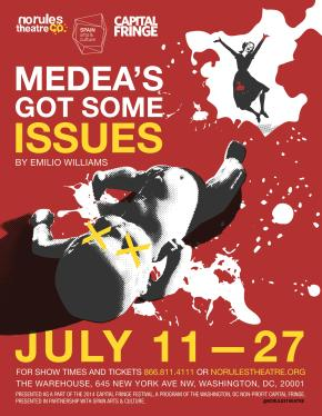 Medea's Got Some Issues at the 2014 Capital Fringe Festival